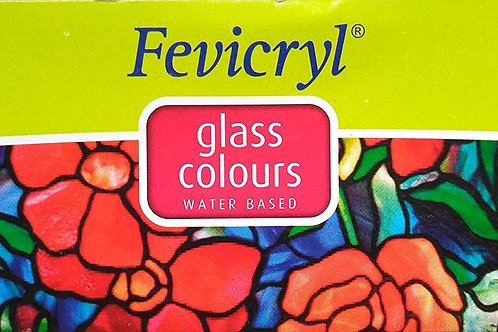Fevicryl Water Based Glass Colours - 115ml