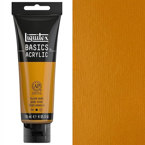 Liquitex Basics Acrylic Colour 118ml - Yellow Oxide