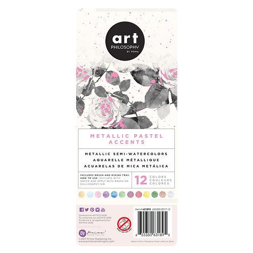 Art Philosophy Metallic Accents - Pastels