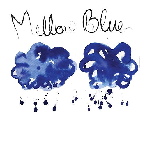 Krishna Inks Super Rich Series Mellow Blue - 20ml