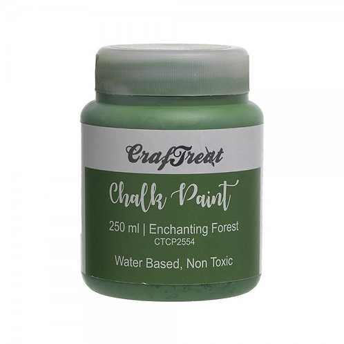 CrafTreat Chalk Paint 250ml - Enchanting Forest