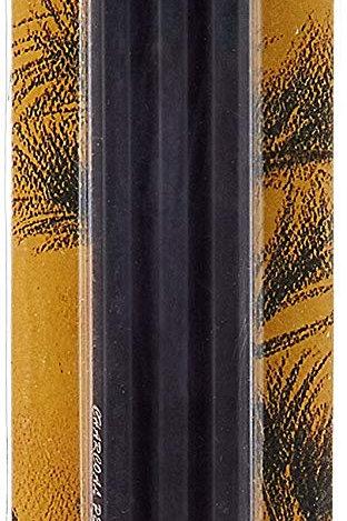 Camlin Kokuyo Charcoal Pencils - Medium/Soft/Hard Charcoal Pencils