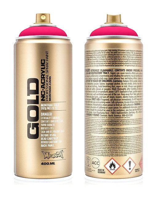 Montana Gold Spray Can - Gleaming Pink