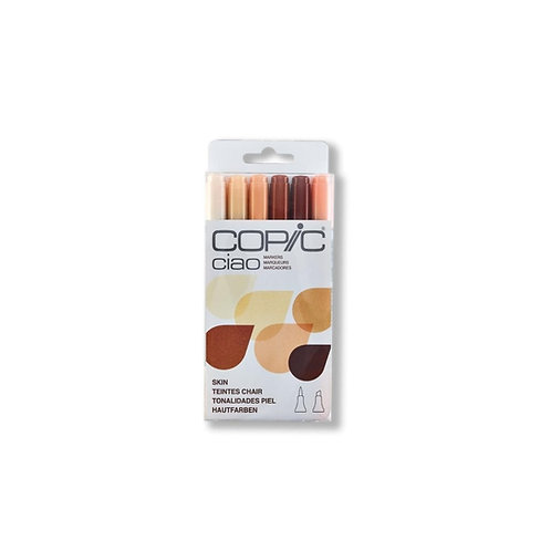 Copic Marker Skin Kit - 6 Markers
