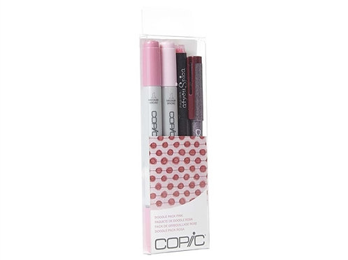 Copic Ciao Doodle - Pink Set of 4