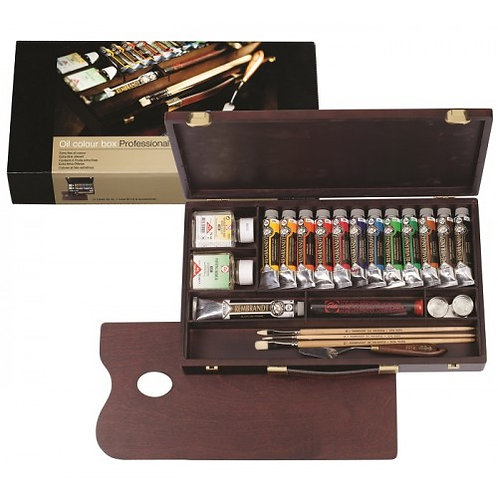 Rembrandt Oil Colour box Professional
