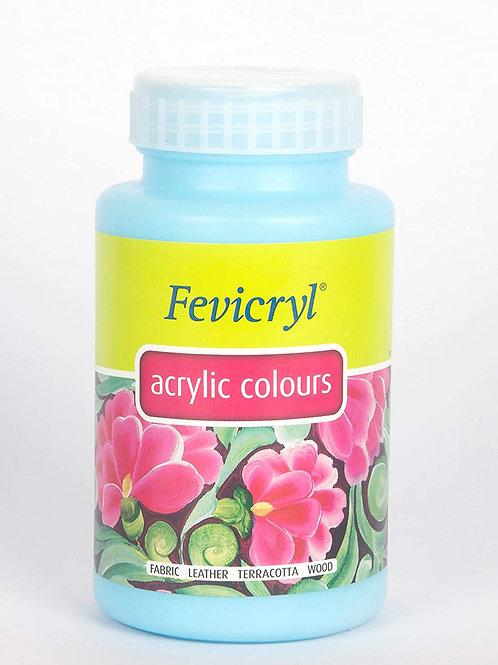 Fevicryl Acrylic Colour 500ml - Sky Blue