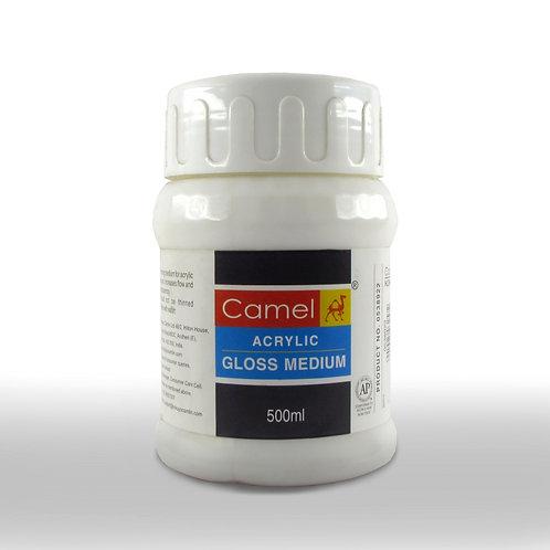 Camel Acrylic Gloss Medium - 500ml