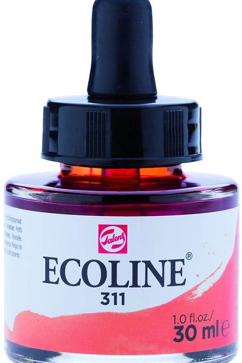 Royal Talens Ecoline Liquid Watercolour Ink 30ml - Vermillion