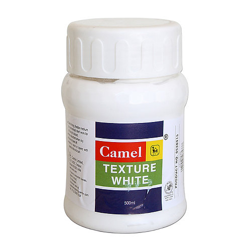 Camel Camlin Texture White - 500ml