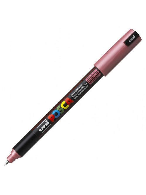 Uni Posca Paint Marker Pen Ultra Fine Tip 0.7 - Metallic Red
