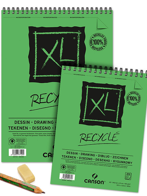 Canson XL Series Recycled Paper Sketch Pad - Wire Bound
