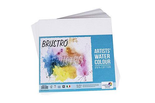 Brustro Watercolour Paper, 25% Cotton - 300 GSM