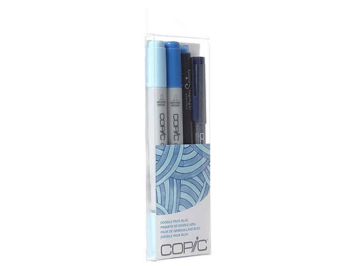Copic Ciao Doodle - Blue Set of 4