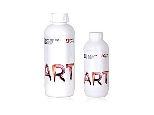 Epoke Clear Epoxy Art Resin Kit (Resin + Hardener) - 300 gms