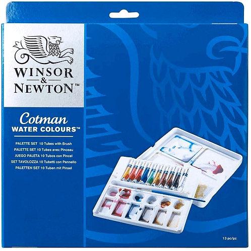Winsor & Newton Cotman Water Colour Palette Set