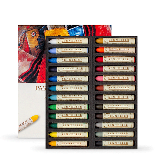 Sennelier Oil Pastel Assorted - Set of 24