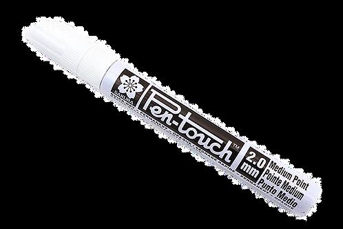 SakuraPen-Touch Paint Marker Fine - 2mm - White