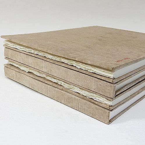 Khadi Paper HB3WR Hardbound Sketchbook Rough - 28x35cm (Single Book)