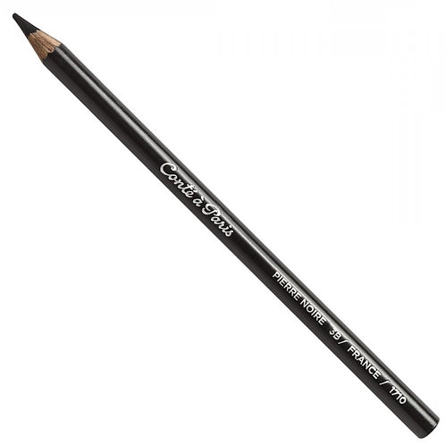 Conte A Paris Sketching Pencils - Pierre Noire 3B