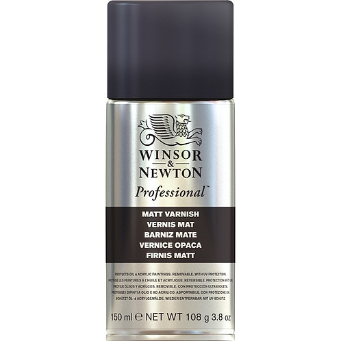 Winsor & Newton Professional Matt Varnish Spray - 150ml