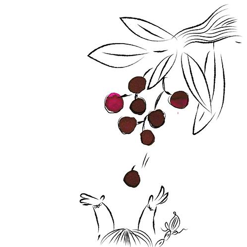 Krishna Inks Super Rich Series Wild Cherry - 20ml