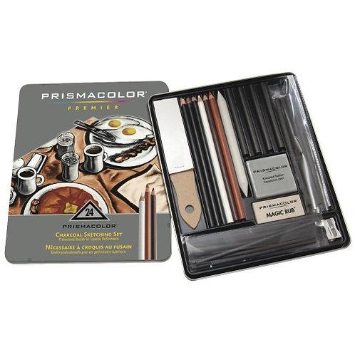 Prismacolor Premier Charcoal Sketch 24ct Set