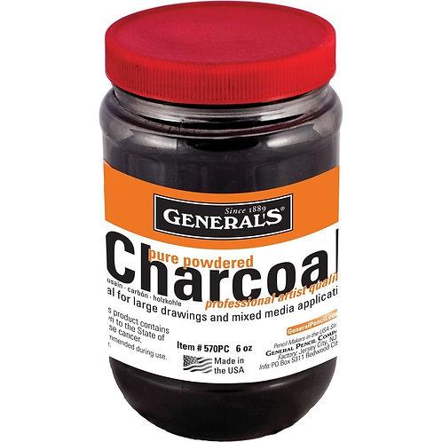 Generals Pencil Powdered Charcoal (Rich Black) - 170gms