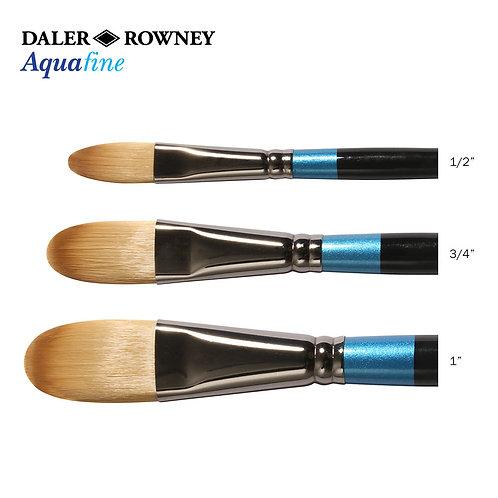 """Daler-Rowney Aquafine Short Oval Wash - 1/2"""""""