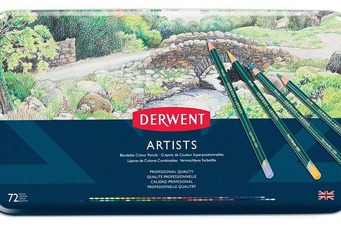 Derwent Artists Tin - Set of 72