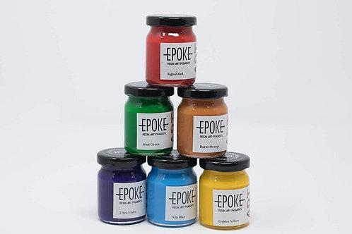 Epoke Art Epoxy Pigment Rainbow Kit - Combo of 6