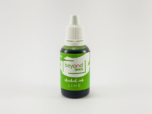 Beyond Inks Individual 20ml Alcohol Inks - Lime