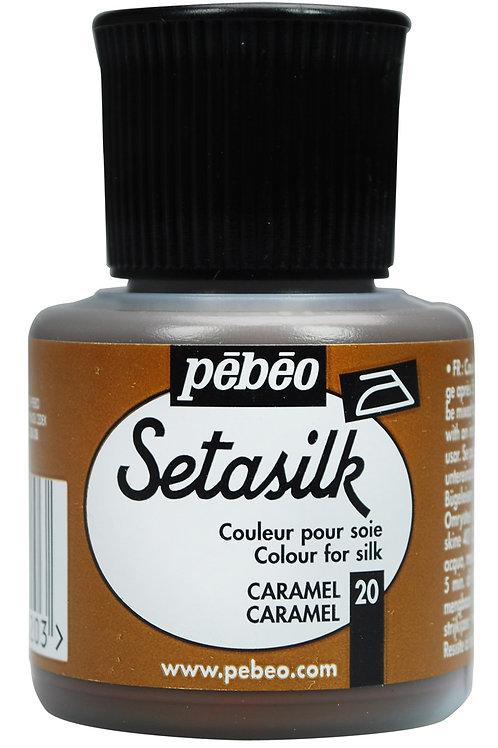 Pebeo Setasilk 45ml - Caramel