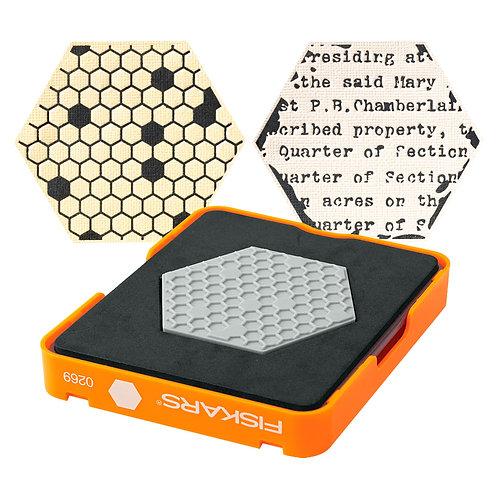 Fiskars Medium Design Set - Thick Material - Hexagon