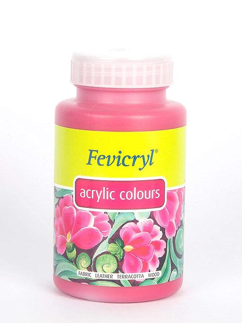 Fevicryl Acrylic Colour 500ml - Magenta