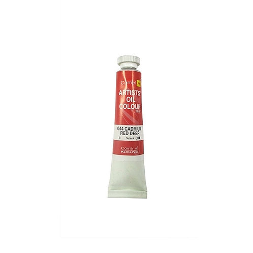 Camlin Kokuyo Artists Oil Colours 20ml - Cadmium Red Deep