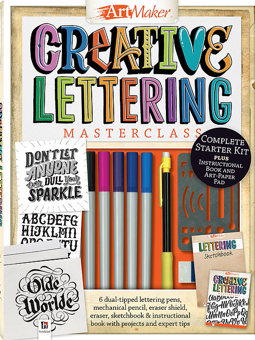 Art Maker Creative Lettering Masterclass Kit