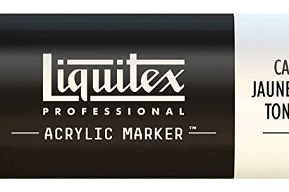 Liquitex 830 Acrylic Paint Marker 15mm Wide - Cadmium Yellow Medium Hue