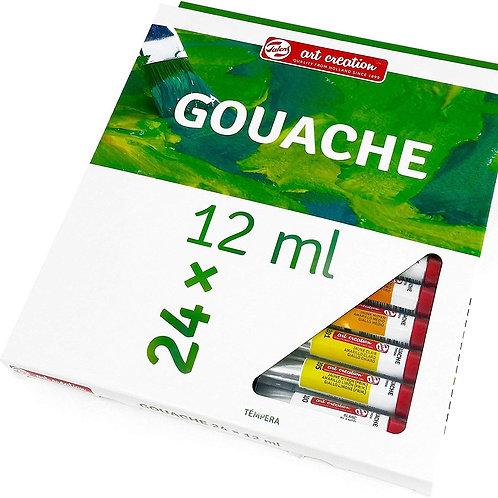 Royal Talens Art Creation Gouache Colour - Set of 24x12ml