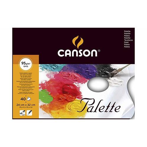 Canson Tear off Palette 95gsm - 24x32cm