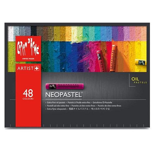 Caran Dache Neopastel Artist Oil Pastels - Set of 48