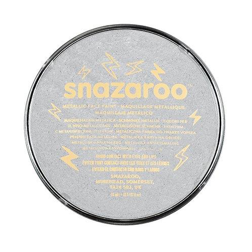 Snazaroo Metallic Face Paint 18ml - Silver