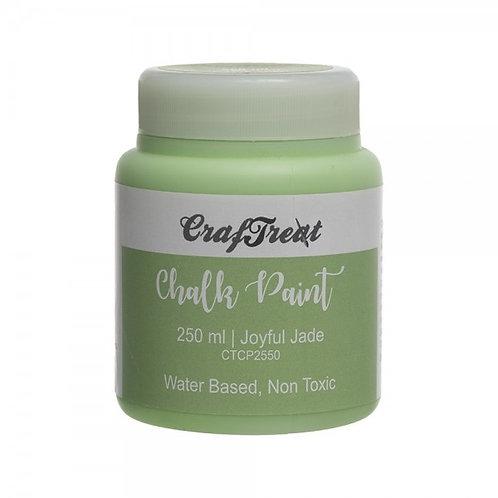 CrafTreat Chalk Paint 250ml - Joyful Jade
