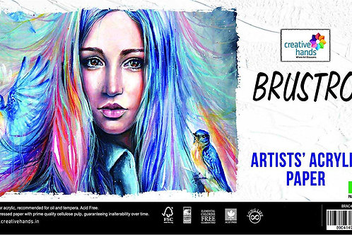 Brustro Artists Acrylic Paper 400 GSM