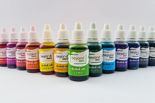 Beyond Inks Alcohol Inks - All 18 Colours