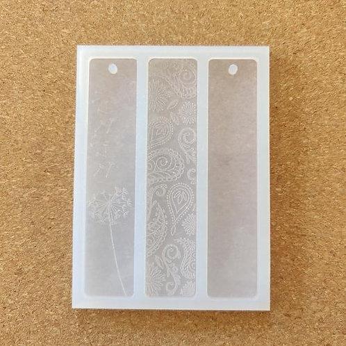 Epoke Ethnic Bookmark / Keychain Silicone Moulds
