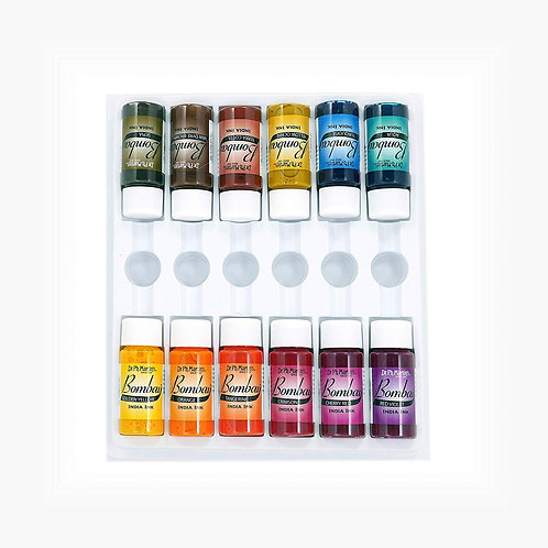 Dr. Ph. Martin's Bombay Ink 15ml Set of 12 - Set 2