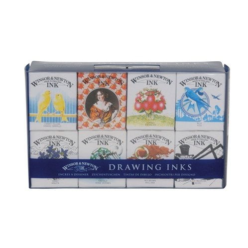 Winsor & Newton Calligraphy Drawing Inks - Henry Collection Set