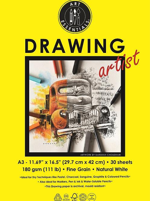 Art Essentials Drawing Artist Polypacks - A3