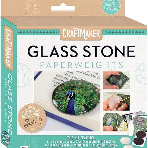 CraftMaker Glass Art - Glass Paperweights